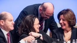 SPD-Spitze rechnet mit Zustimmung zur Groko
