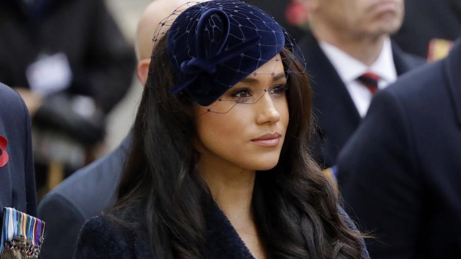 Meghan während einer Gedenkzeremonie in Westminster Abbey in London (Archivfoto)