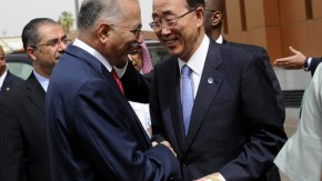 Ihsanoglu und Ban Ki-moon