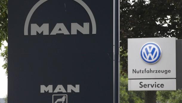 VW-Tochter MAN will bis zu 9500 Stellen abbauen