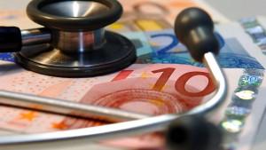 Krankenkassen mit 740 Millionen Euro im Minus