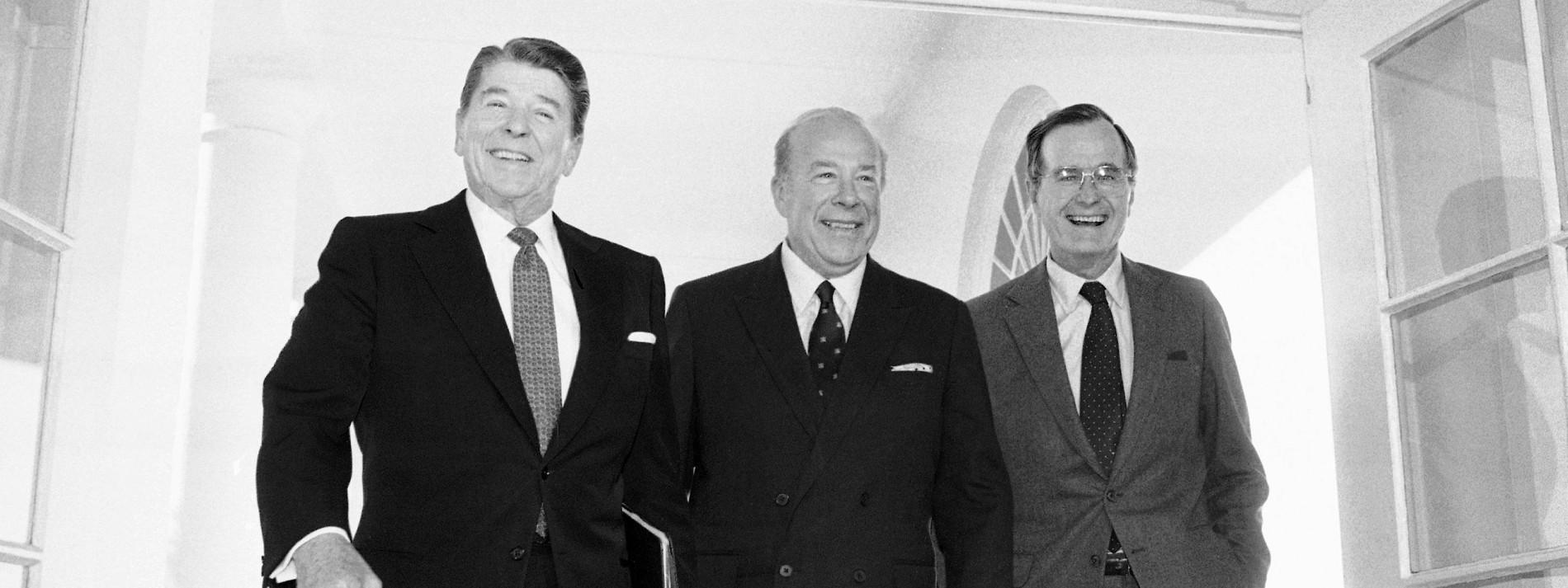 Reagans Außenminister stirbt mit 100 Jahren