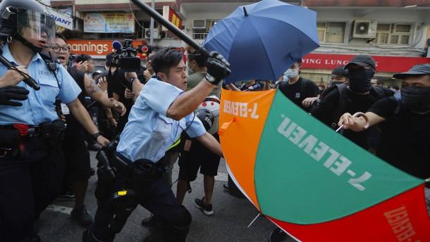 Proteste gegen Händler aus der chinesischen Volksrepublik