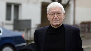 Anton Schlecker steht vor Gericht