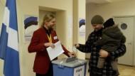 Parlamentswahl mit Blick auf die Ukraine-Krise