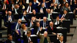 AfD-Eklat in erster Bundestag-Sitzung