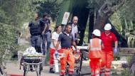 Explosion in italienischer Feuerwerksfabrik