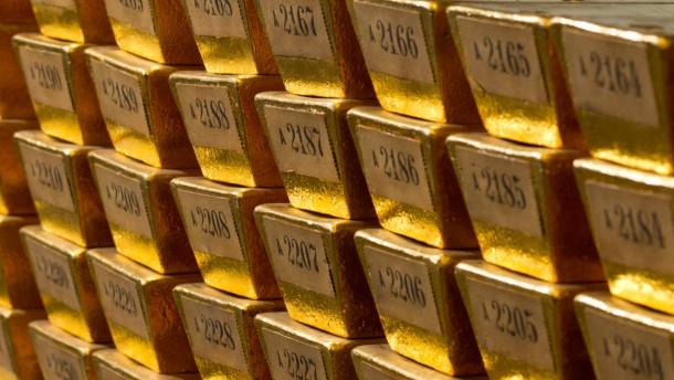 Die Goldbarren kommen