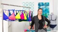 Ganz schön bunt: Bikinis der Unternehmerin Franziska Hannig