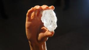 Rekord-Rohdiamant findet keinen Käufer
