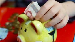 Deutschlands Kinder erhalten drei Milliarden Euro Taschengeld
