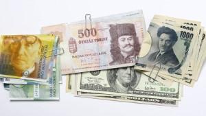 Die globalen Devisenmärkte ordnen sich neu