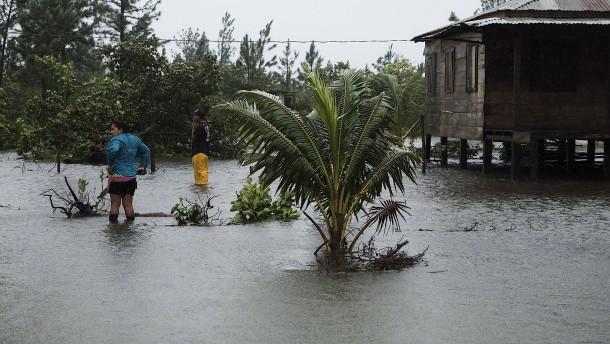 """Hurrikan """"Eta"""" wütet in Zentralamerika"""