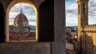 Blick auf den Duomo von Florenz