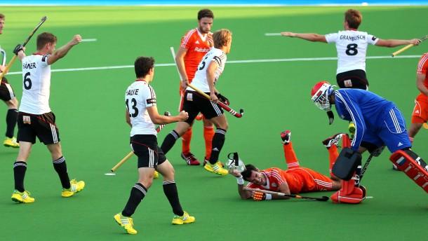 Herren spielen im Finale gegen Belgien