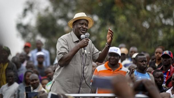 Odinga will Neuwahl boykottieren