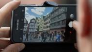 Spotlight: Am Mittwoch wurde Frankfurts neue Altstadt für die Besucher eröffnet.