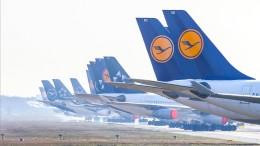 Lufthansa verliert eine Million Euro pro Stunde