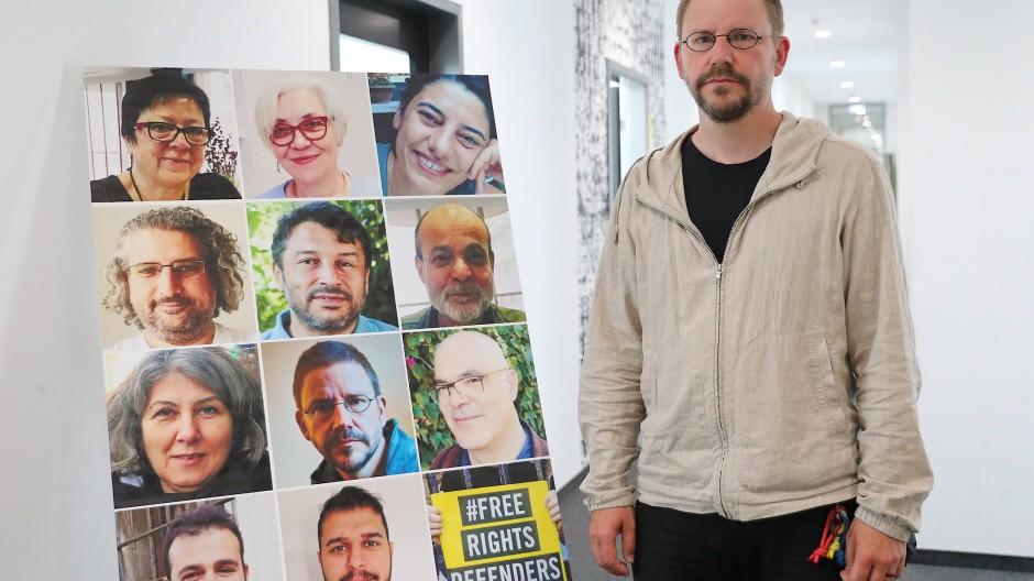 Er wurde freigesprochen: der Menschenrechts-Aktivist Peter Steudtner