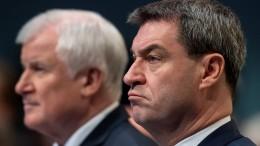 CSU rutscht in Bayern unter 40 Prozent
