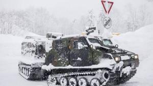 Die Bundeswehr im Wintereinsatz