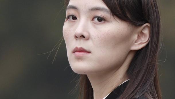 Kim Yo-jong will Härte zeigen