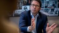 Will schnellere Konsequenzen für abgelehnte Asylbewerber: Bundesverkehrsminister Andreas Scheuer (CSU)