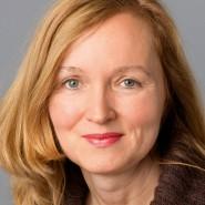 """Susanne Kusicke  - Portraitaufnahme für das Blaue Buch """"Die Redaktion stellt sich vor"""" der Frankfurter Allgemeinen Zeitung"""