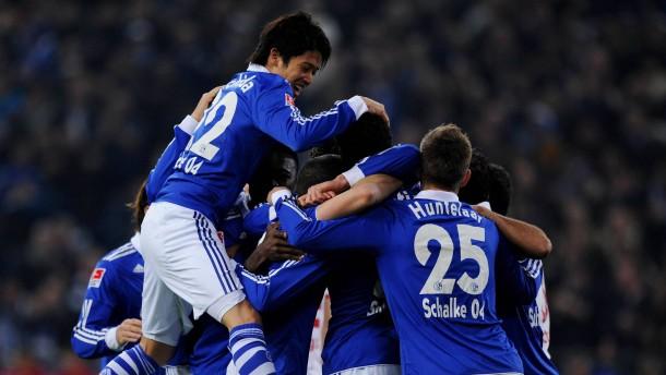 Schalker Jugend zaubert
