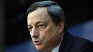 Will die Geldpolitik in Europa lockern: Mario Draghi, Präsident der Europäischen Zentralbank