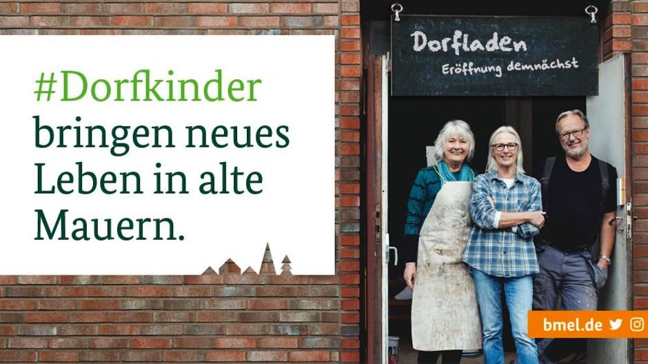 Julia Klöckners #Dorfkinder-Kampagne