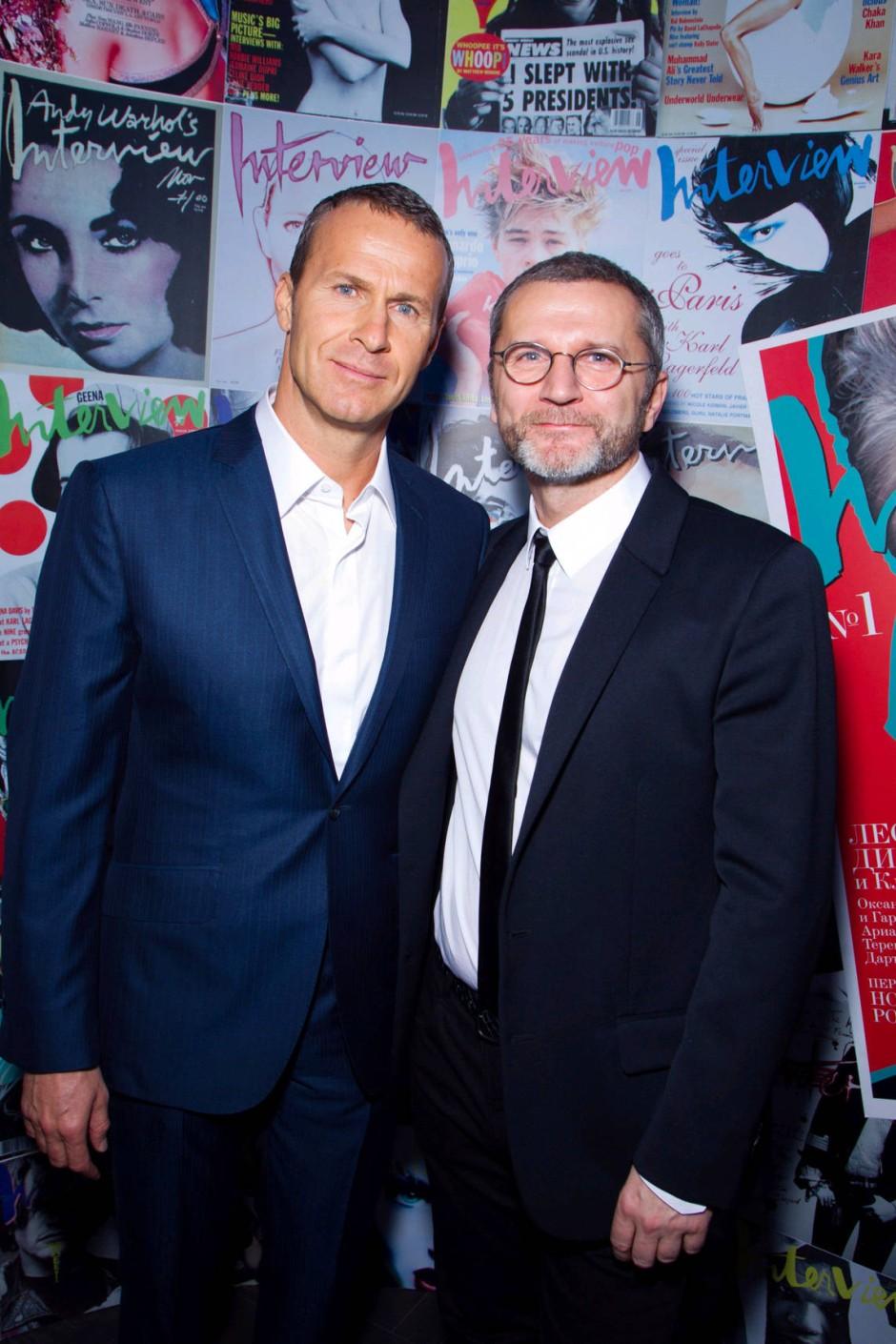 Die Herausgeber Wladislaw Doronin und Bernd Runge