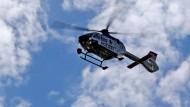 Polizei jagt Moped-Diebe mit Hubschrauber