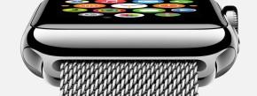 Sieht edel aus: die Apple Watch