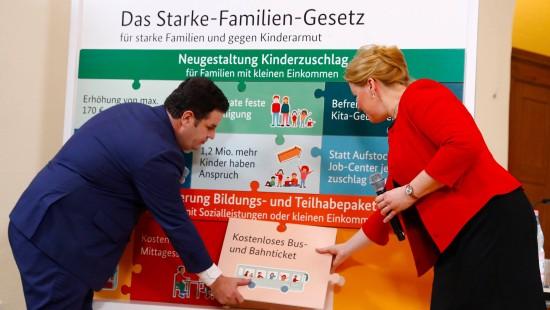 """""""Starke-Familien-Gesetz"""" beschlossen"""