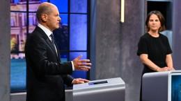 Scholz gewinnt nach Blitzumfrage drittes TV-Triell