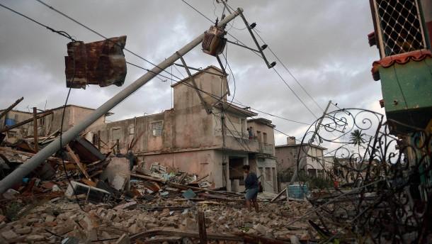 Wirbelsturm auf Kuba kostet drei Menschen das Leben