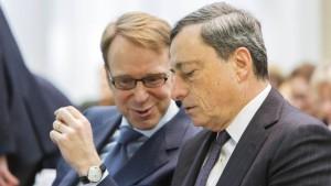 Das Eurofieberthermometer steigt wieder