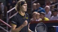 Zverev trifft auf Federer