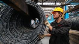 Chinas Wirtschaftswachstum auf 28-Jahres-Tief