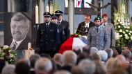 Gedenken nach dem Verbrechen: Trauerfeier für Walter Lübcke in der vergangenen Woche