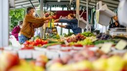 Frankfurt verbietet Plastikbeutel auf Wochenmärkten