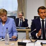 Wie gut verstehen sich Merkel und Macron noch?