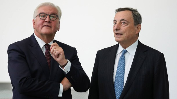 Hört auf Mario Draghi!