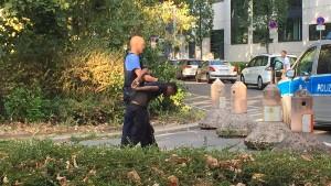 Die Polizei geht gegen Dealer in Frankfurt vor