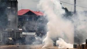 Kaum Ausschreitungen in Kinshasa