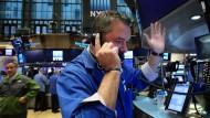 Bärenjahr: Viele Banker an der Wall Street bekommen weniger Boni.