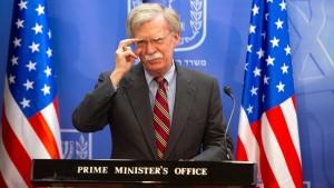 Bolton: Konflikt mit Türkei kann sofort enden