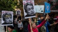 Hassfigur: Proteste gegen die Philosphin Judith Butler in Brasilien.