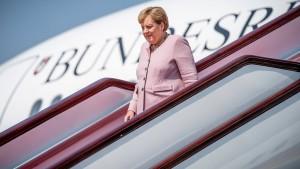 Fünf Regierungsmitglieder in vier Flugzeugen